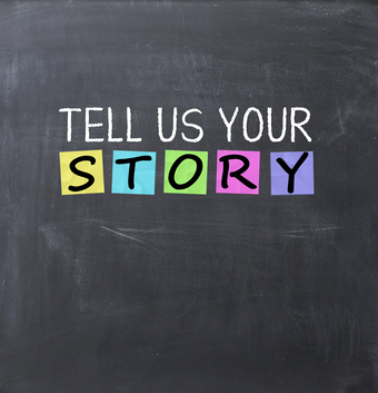 Opowiedz mi swoją historię:-)